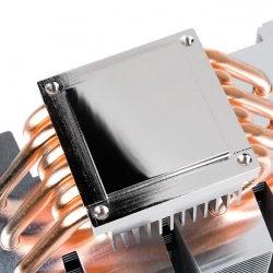 Produktfoto des CPU-Radiators mit Wärmerohr